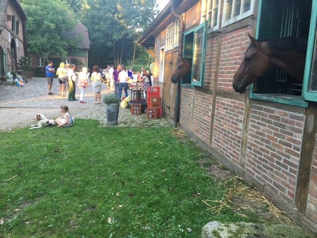 Hoffest auf dem Heinshof in der Lüneburger Heide