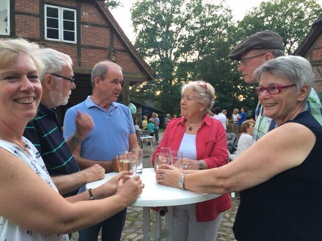 Hoffest auf dem Heinshof in Sahrendorf in der Lüneburger Heide