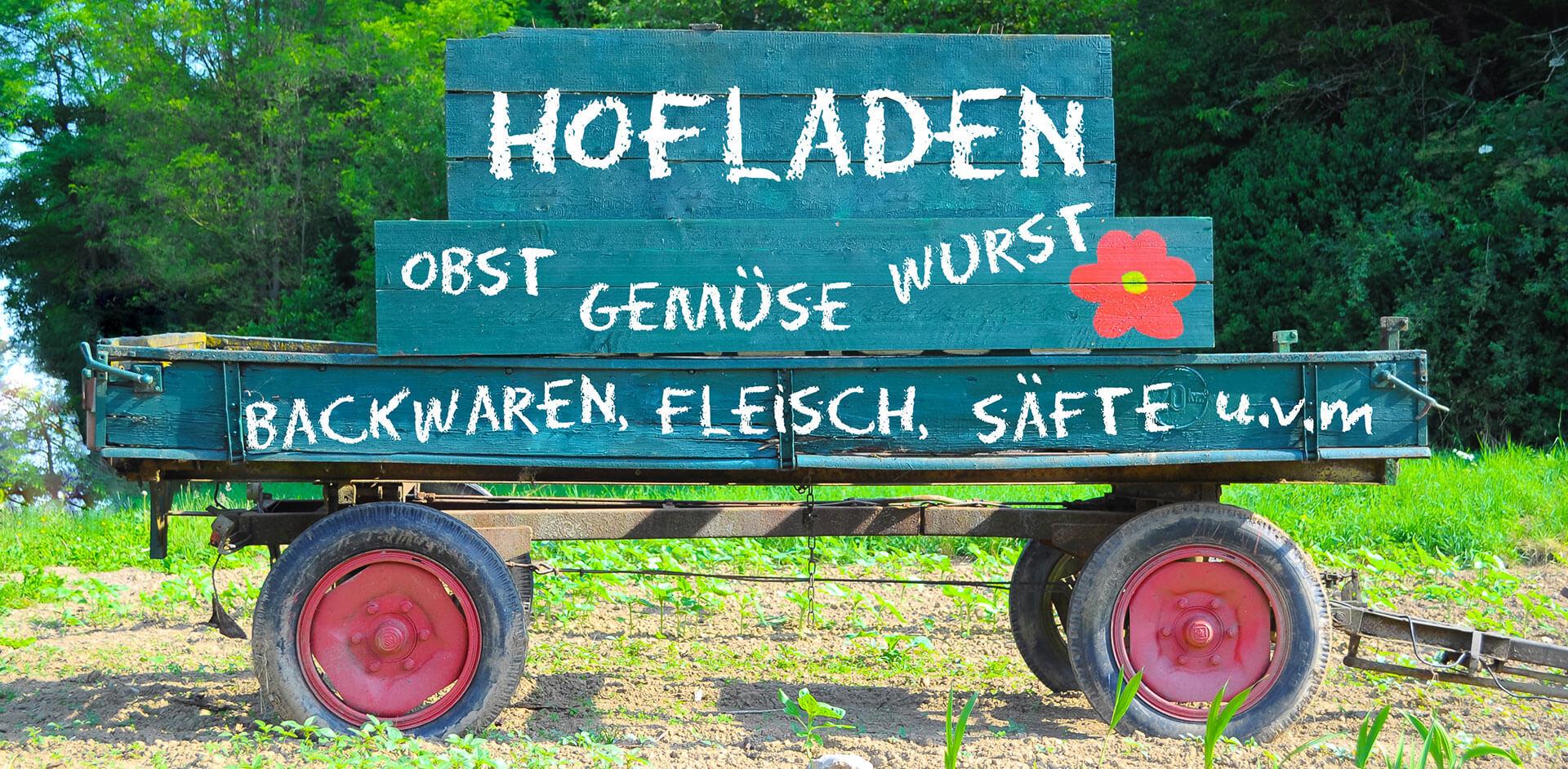 Hofladen mit ausgewählten erstklassigen Produkten auf dem Heinshof