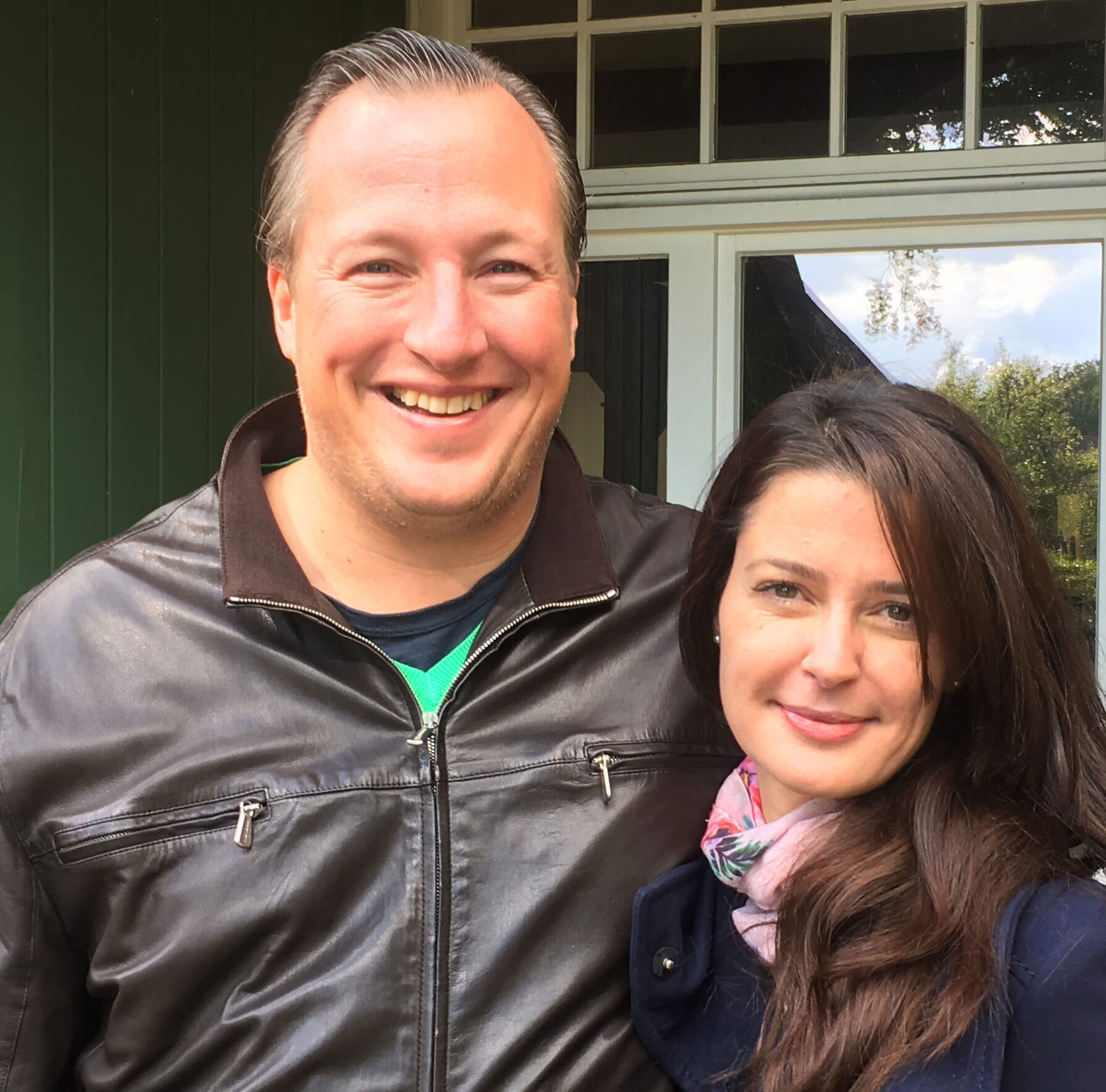 John Leyba und Suzana Peters auf dem Heinshof