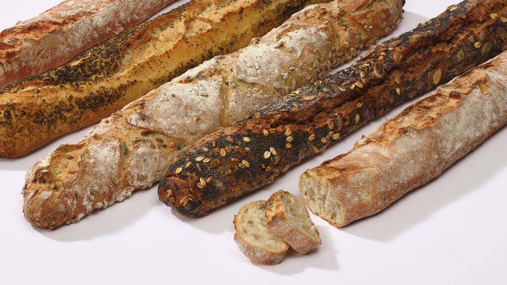 french baguettes from the farm store at the showjumping school near Hamburg
