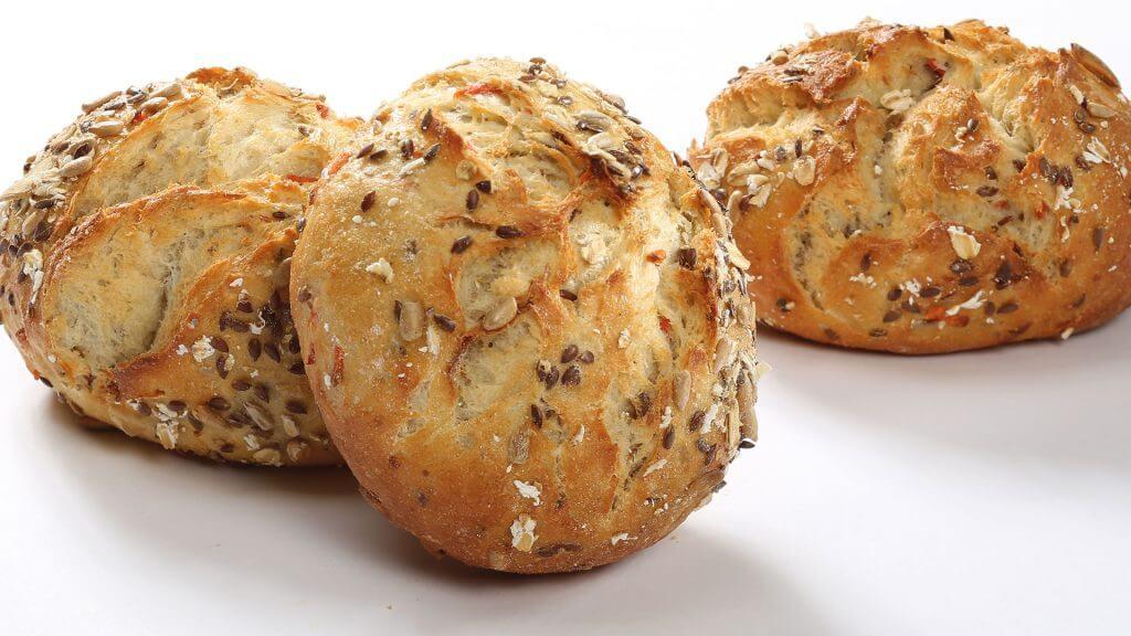 carrot bread rolls for breakfast