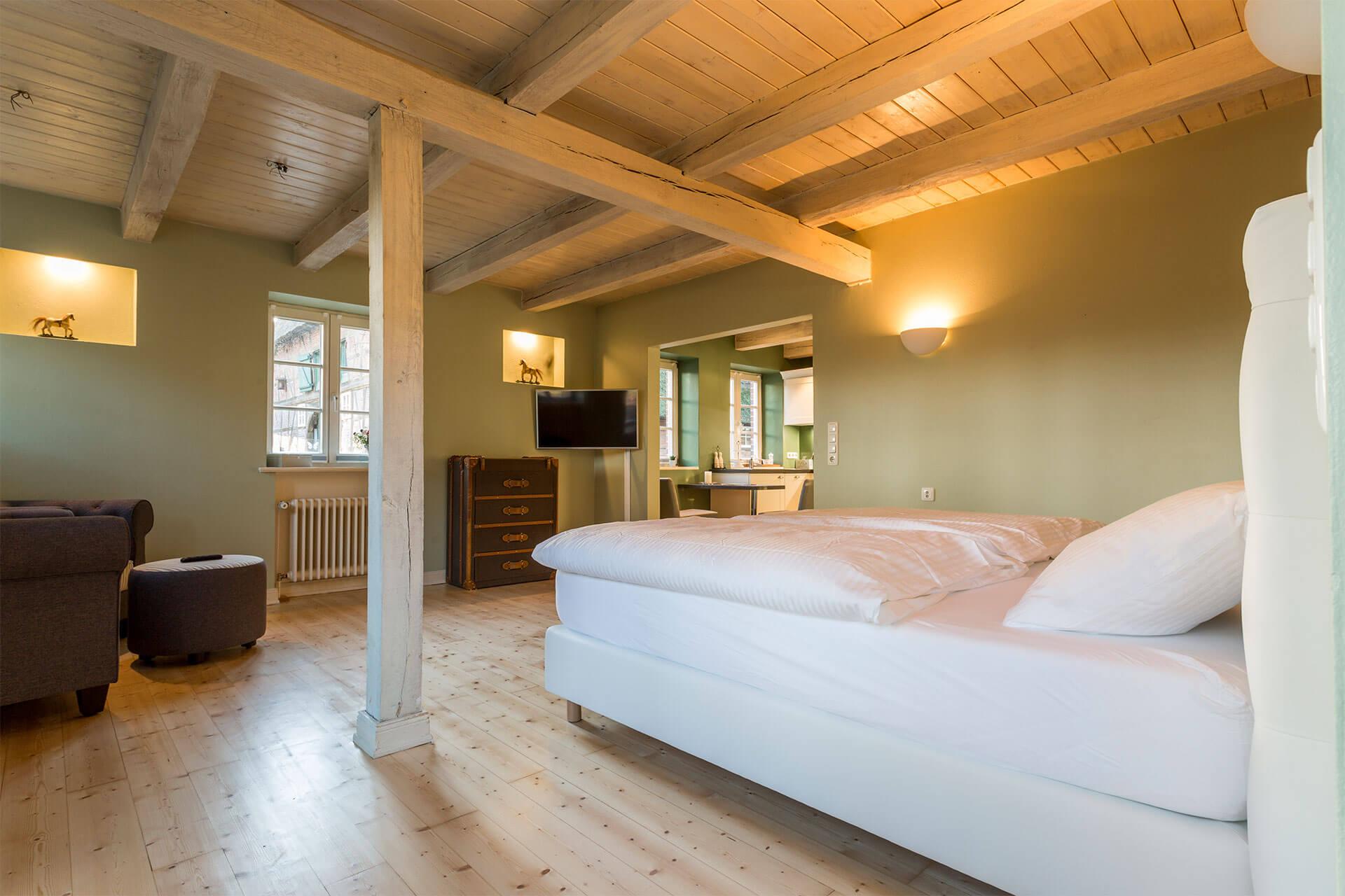 genießen sie ihren Urlaub in der gemütlichen stilvoll eingerichteten Wohnung Moritz