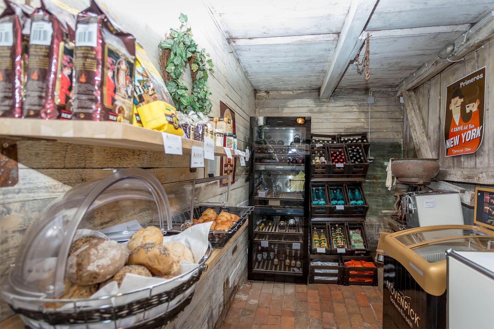 Inside of our Farm store on Heinshof