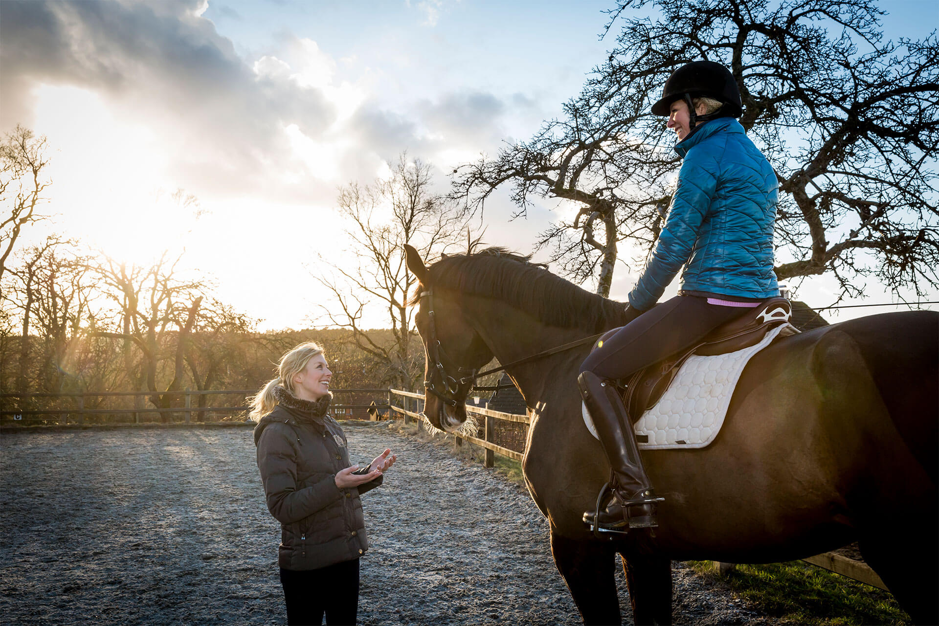 Horse riding lessons with Linda Naeve on Heinshof